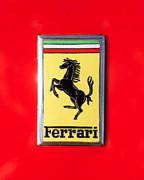 1967 Ferrari 330 Gtc Emblem Print by Jill Reger