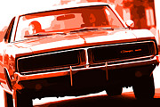 Dodge Super Bee Emblem Prints - 1969 Dodge Charger Print by Gordon Dean II
