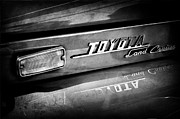 Cruiser Photos - 1970 Toyota Land Cruiser FJ40 Hardtop Emblem by Jill Reger