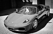 2007 Framed Prints - 2007 Ferrari F430 Spider F1 Framed Print by Jill Reger