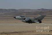 Featured Art - A Panavia Tornado Of The Italian Air by Ofer Zidon