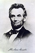 Leaders Photo Posters - Abraham Lincoln Poster by Anonymous