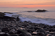 Down East Maine Photos - Acadia Dawn by Stephen  Vecchiotti