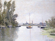 Argenteuil Print by Claude Monet