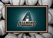 Outfield Posters - Arizona Diamondbacks Poster by Joe Hamilton