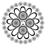 White Flower Drawings - Art Nouveau Woman by Frank Tschakert