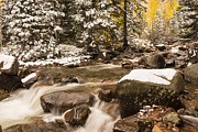 Gore Range Prints - Autumn At Gore Creek - Vail Colorado Print by Brian Harig