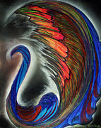 Swan Pastels - Beautiful Swan by Melinda Firestone-White
