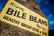 Bile Beans Advertising Print by Bailey Cooper
