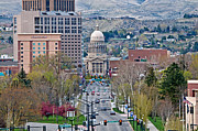 University Blvd Prints - Boise Print by Mark Weber