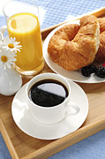 Serve Metal Prints - Breakfast  Metal Print by Elena Elisseeva
