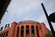 Blue Bricks Photos - Busch Stadium - St. Louis Cardinals by Frank Romeo