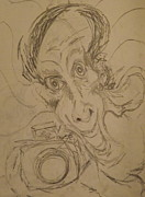 Self Portraits Art - Caricature Of Confusion by Jon David Gemma
