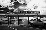Charter Posters - Charter Fishing Boats Charter Boat Row City Marina Key West Florida Usa Poster by Joe Fox