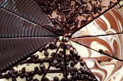 Triangle Photos - 4 Chocolate Cheesecakes - Dessert - Baker - Kitchen by Andee Photography