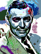 Star Posters - Clark Gable Poster by Allen Glass