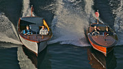 Chris Craft Prints - Classic Chris-Craft Print by Steven Lapkin