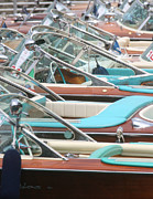 Portofino Italy Photo Prints - Classic Riva Print by Steven Lapkin