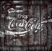 Vintage Coca Cola Sign Art - Coca Cola Sign by John Stephens