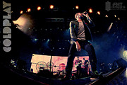 Coldplay Framed Prints - Coldplay Framed Print by Farhad Tamim