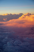 View From Above Posters - Colorful Clouds Poster by Brian Jannsen