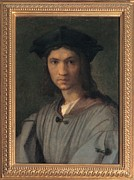 Young Man Framed Prints - Dagnolo Andrea Known As Andrea Del Framed Print by Everett