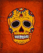Day Of The Dead Print by Joseph Sonday