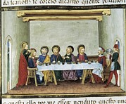 Banquet Photos - De Predis, Cristoforo 1440-1486 by Everett