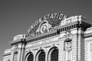 Murals Prints - Denver - Union Station Print by Frank Romeo