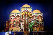 Durga Puja Photos - Durga idol by Pallab Banerjee