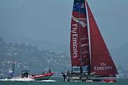 Emirates Prints - Emirates Team New Zealand Print by Steven Lapkin