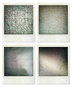 Textured Background Posters - Fabrics Poster by Les Cunliffe