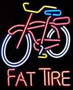 Fat Tire Prints - Fat Tire Print by Kelly Awad