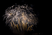 Fireworks Display Print by Michel Rathwell