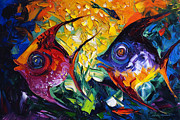 Fish Art Prints Framed Prints - Fish Framed Print by Willson Lau