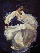 Sylva Zalmanson - Flamenco in white