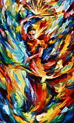Dancer Paintings - Flamenco by Leonid Afremov