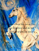 Slavery Painting Prints - Freedom Print by Amanda Dinan