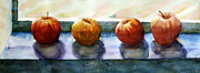 """indoor"" Still Life  Painting Framed Prints - 4 Friends Framed Print by Marisa Gabetta"