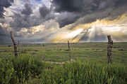 Crepuscular Rays Photos - Gates of Heaven by Jill Van Doren Rolo