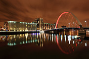 Glasgow Cityscape Framed Prints - Glasgow Clyde Arc Framed Print by Grant Glendinning