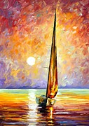 Leonid Afremov - Gold Sail