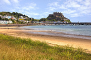 Great Britain Art - Gorey castle - Jersey by Joana Kruse