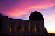 Griffith Observatory Posters - Griffith Observatory in Los Angeles Hollywood California at Suns Poster by ELITE IMAGE photography By Chad McDermott