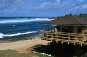 Hookipa Beach Maui North Shore Hawaii Print by Sharon Mau