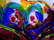 Abstracts - I Hate Clowns by Allen n Lehman