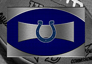 Offense Framed Prints - Indianapolis Colts Framed Print by Joe Hamilton