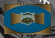 Offense Framed Prints - Jacksonville Jaguars Framed Print by Joe Hamilton
