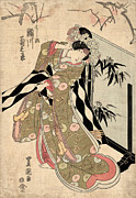 Japan: Tale Of Genji Print by Granger