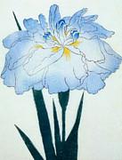 Japanese Flower  Print by Japanese School